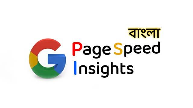 পেজ স্পিড ইনসাইট, PageSpeed Insights bangla